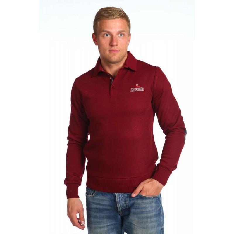 Пуловер мужской AVVA A52 5157 41 BORDO CLARET RED  - фото 1