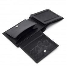 Кожаный кошелек мужской TERGAN темно-коричневый с монетницей S1CE00001373
