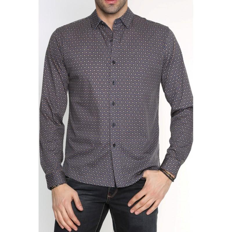 Рубашка мужская ENRICO BELENO 15823 SHIRT BAT