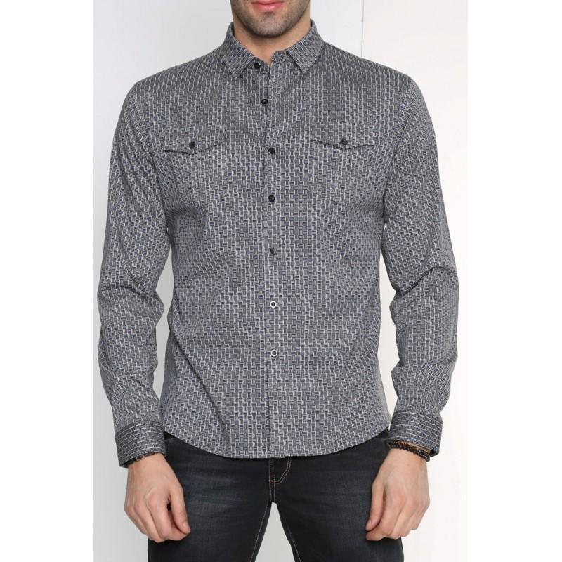 Рубашка мужская ENRICO BELENO 15838 SHIRT BAT  - фото 1