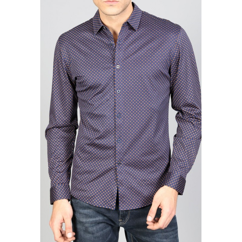 Рубашка мужская ENRICO BELENO 15899 SHIRT BAT  - фото 1