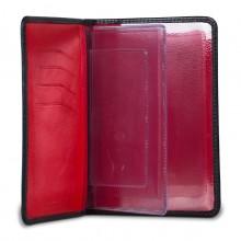 Бумажник водителя из кожи D.MORELLI черный DM-B001-K107