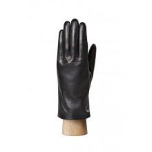 Перчатки мужские ELEGANZZA кожаные черные 100% шерсть подкладка IS213 black