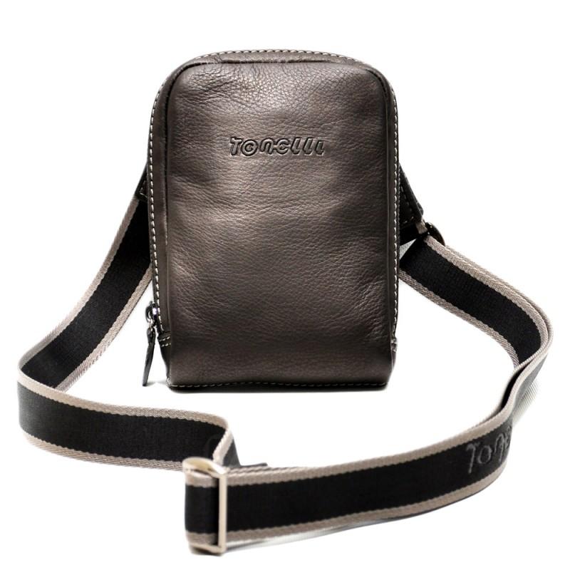 Мужская сумка на плечо  TONELLI UOMO 2158 nero  - фото 1