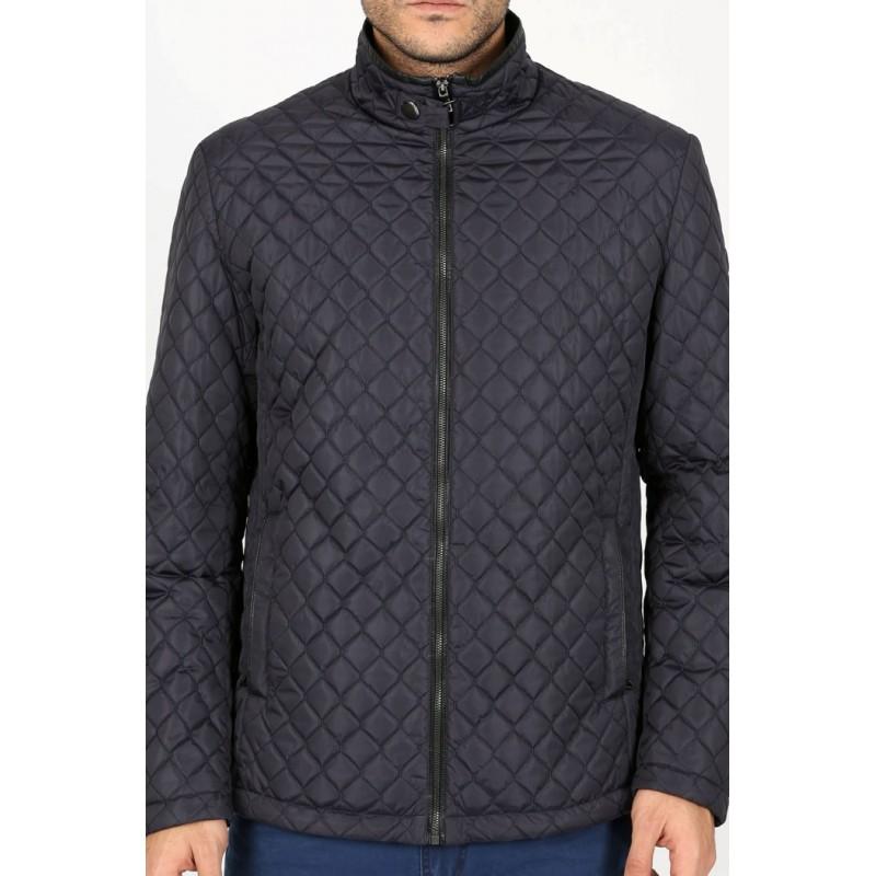 Куртка-ветровка ENRICO BELENO коричневая стеганая 4603 OVERCOAT