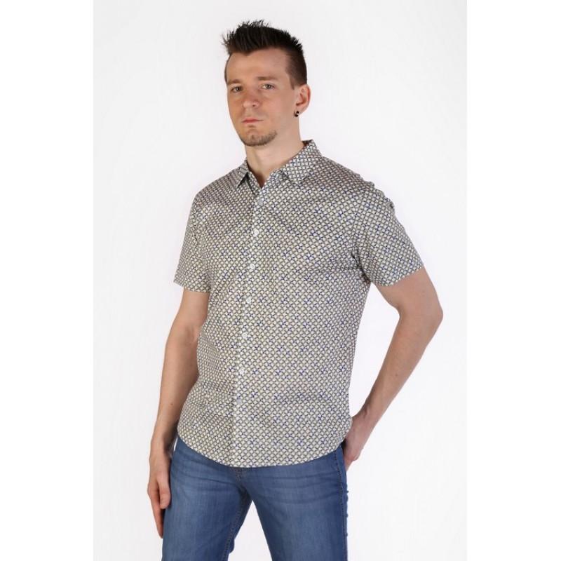 Рубашка мужская ENRICO BELENO  15974 SHIRT