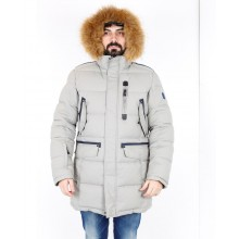 Мужская куртка ENRICO BELENO зимняя  4713 PADDING GREY