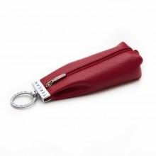Женская ключница кожаная TERGAN красная S1AN00000193