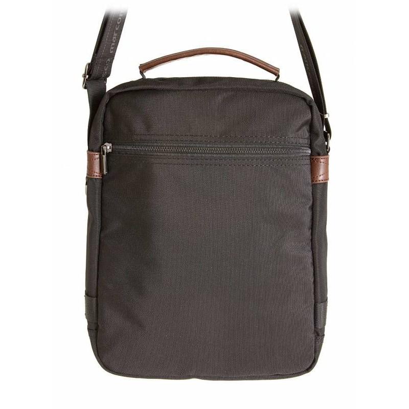 Мужская сумка на плечо Francesco Marconi  71091ts tessuto nero