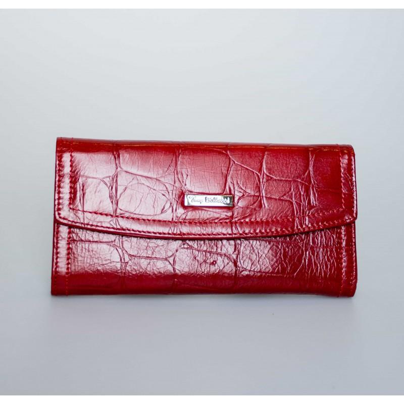 Кошелек женский TONY BELLUCCI кожаный красный длинный Т523-952  - фото 1