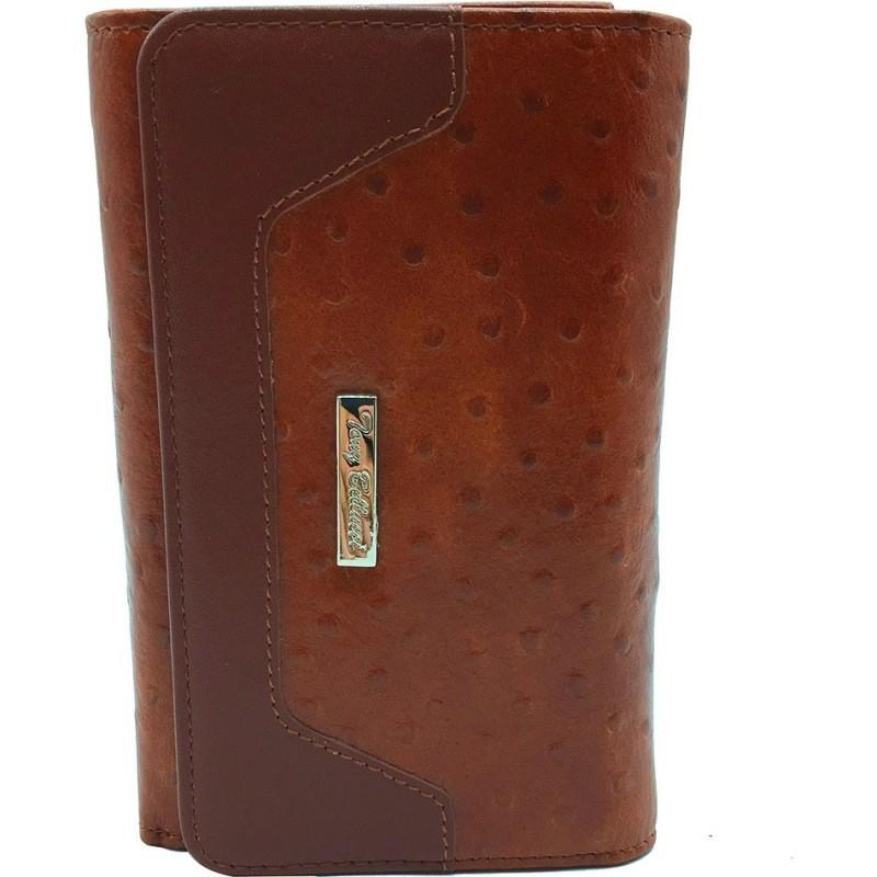 Кошелек женский TONY BELLUCCI кожаный коричневый средний Т610-957  - фото 1