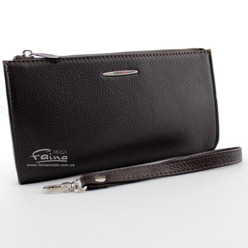 Мужской клатч EMINSA коричневый кожаный на замке 5012-17-3 EL CANTASI
