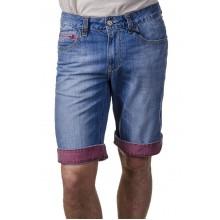 Шорты джинсовые брендовые ENRICO BELENO  7780 MARTIN-2474 LIGHT BLUE